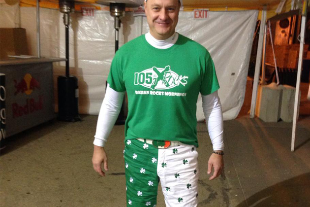 Matt Bahan is ready to celebrate St. Patrick's Day with YOU!
